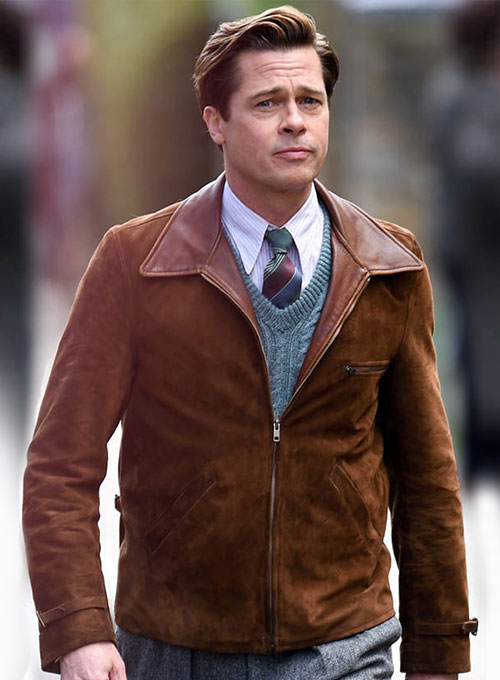 brad pitt jacket allied