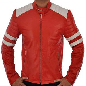 Brad Pitt Fight Club Jacket (Faux Leather)