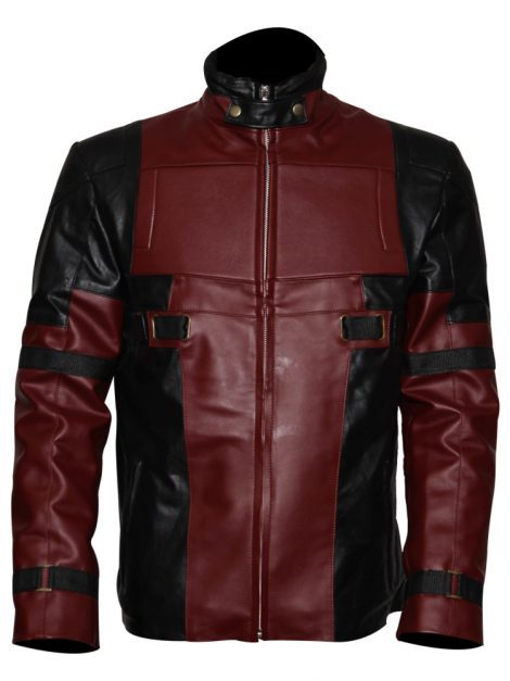 Deadpool Costume Leather Jacket