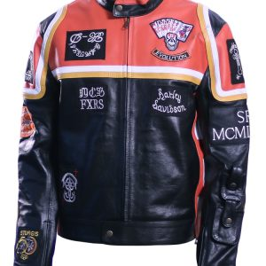 HDMM Motorcycle Leather Jacket