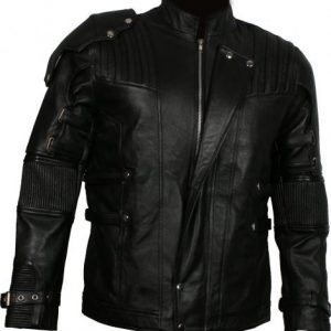 Infinity War Star Lord Costume Black Chris Pratt Jacket