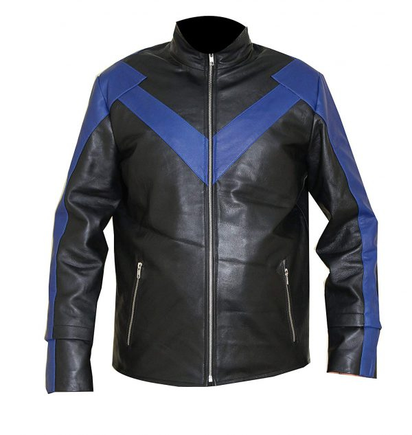 Nightwing Leather Jacket For Men