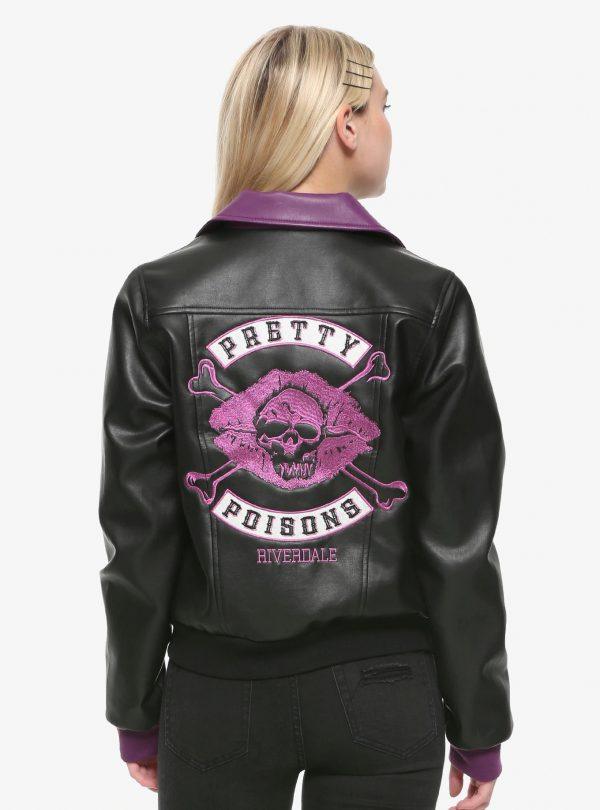 Pretty Poisons Leather Jacket riverdale