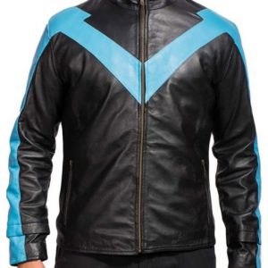 Sky Blue Nightwing Jacket