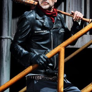 The Walking Dead Negan Leather Jacket For Mens