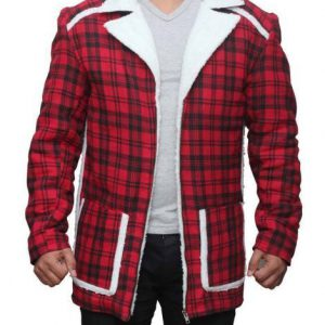 Wade Wilson Coat – Deadpool Shearling Coat