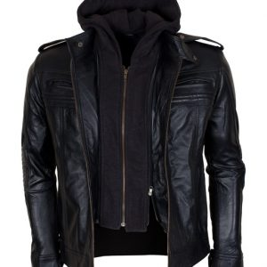 AJ Styles Leather TNA Jacket