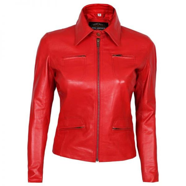 once upon a time emma swan red leather jacket