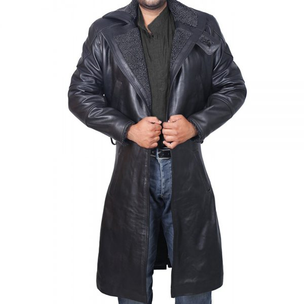 Officer K Leather Trench Coat From Blade Runner 2049