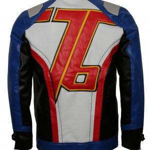 Overwatch Soldier 76 Leather Jacket For Men
