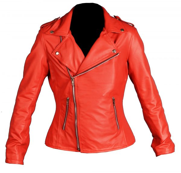 Riverdale Womens Red Southside Serpents Jacket