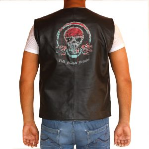 Cold Blooded Real Leather Vest for Men